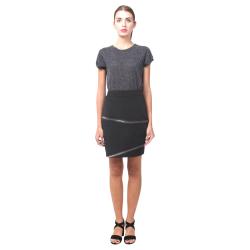 Zipper Print Nemesis Skirt Nemesis Skirt (Model D02)