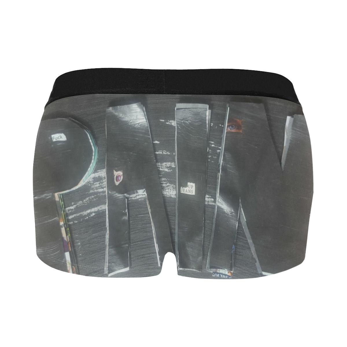 pain Men's All Over Print Boxer Briefs/Short Size (Model L22)