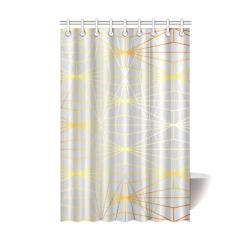 "ELEGANT SILVER GOLD DIAMONDS-1SC7 Shower Curtain 48""x72"""