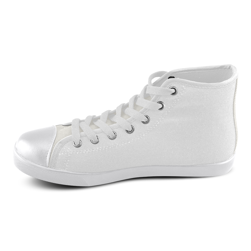 My Sunshine Women's High Top Canvas Shoes (Model 002)