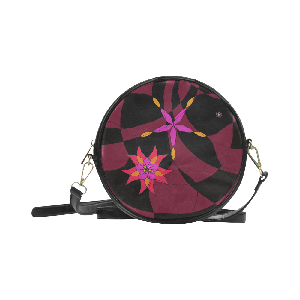 Abstract # 12 Round Sling Bag (Model 1647)