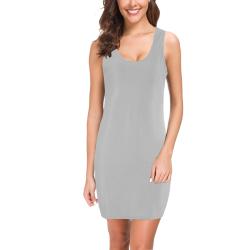 Silver Sand Grey Medea Vest Dress (Model D06)