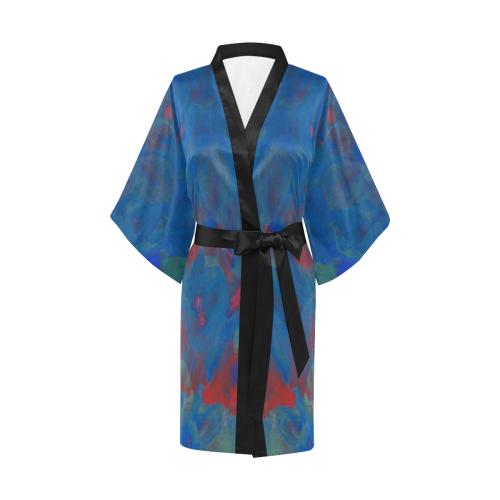 Roses of the Sea Kimono Robe