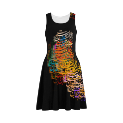Liam-Black Atalanta Sundress (Model D04)