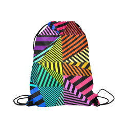 "abstracto en color Large Drawstring Bag Model 1604 (Twin Sides)  16.5""(W) * 19.3""(H)"