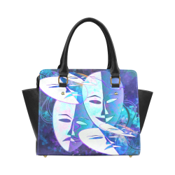 Abstract Drama Classic Shoulder Handbag (Model 1653)