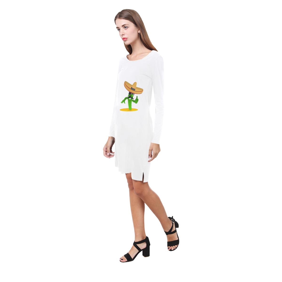 cool cactus Demeter Long Sleeve Nightdress (Model D03)