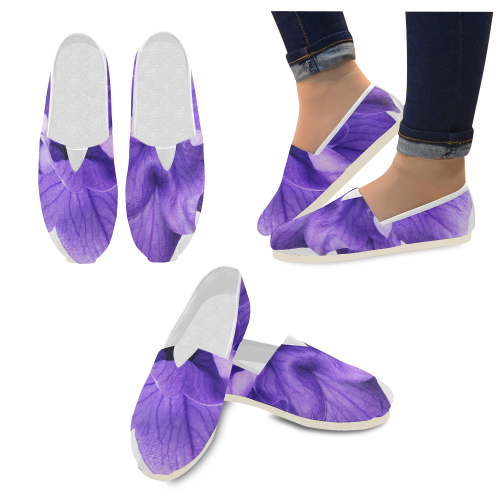 Balloon Flower Casual Shoes for Women (Model 004)