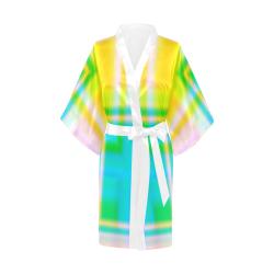 Abstract QQQQ Kimono Robe