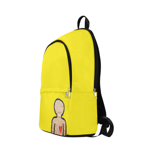 heart trans Fabric Backpack for Adult (Model 1659)