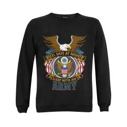 army veteran Gildan Crewneck Sweatshirt(NEW) (Model H01)