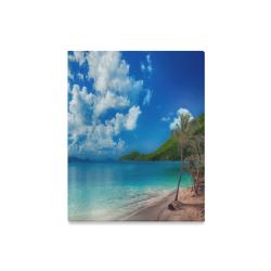 """Beach Escape Canvas Print 16""""x20"""""""