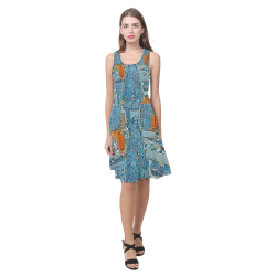 A Woman's World Atalanta Casual Sundress(Model D04)