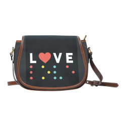LoveBraille Bag Saddle Bag/Large (Model 1649)