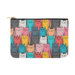 Cartoon Cat Pattern Carry-All Pouch 12.5''x8.5''