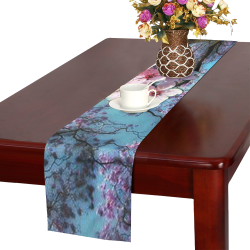 Cherry blossomL Table Runner 14x72 inch