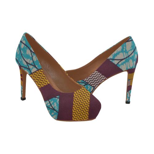 Heels Wax 6 Women's High Heels (Model 044)