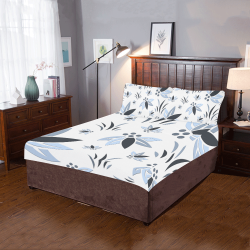 Cool Corporate Flora 3-Piece Bedding Set