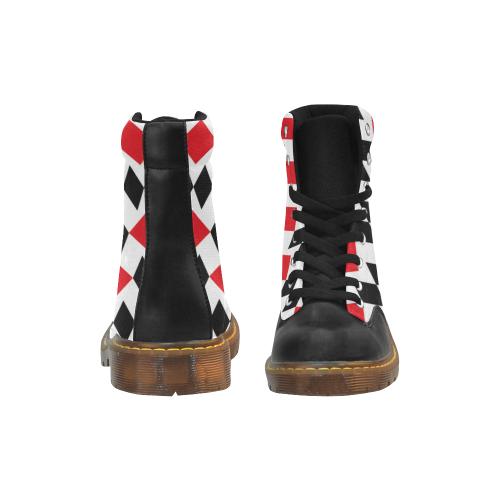 17rb Apache Round Toe Men's Winter Boots (Model 1402)