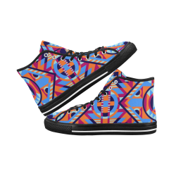 Modern Geometric Pattern Vancouver H Men's Canvas Shoes (1013-1)