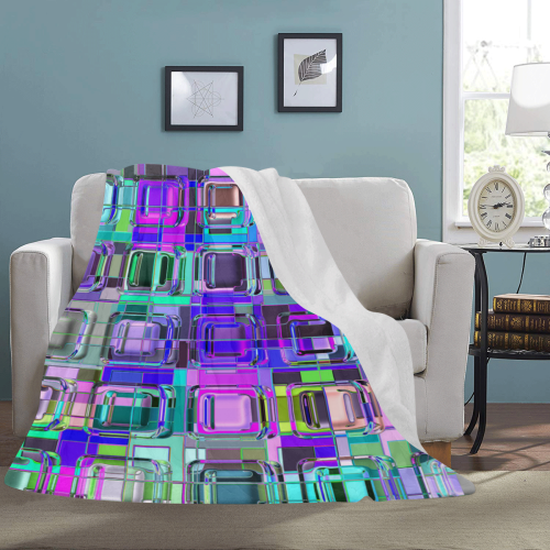 """TechTile #6W - Jera Nour Ultra-Soft Micro Fleece Blanket 60""""x80"""""""