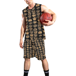Royal Krone by Artdream All Over Print Basketball Uniform