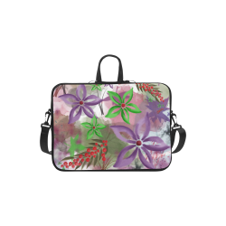 Flower Pattern - purple, violet, green, red Macbook Air 11''