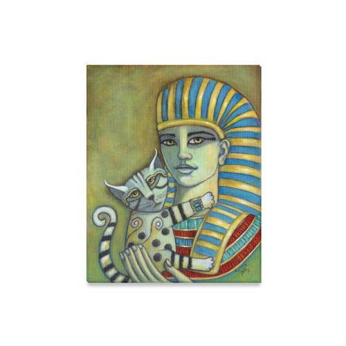 "The Pharaoh's Cat Canvas Print 16""x20"""