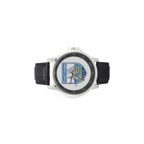 Waterford Watch Unisex Stainless Steel Leather Strap Watch(Model 202)