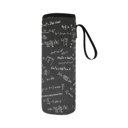 Mathematics Formulas Equations Numbers Neoprene Water Bottle Pouch/Large