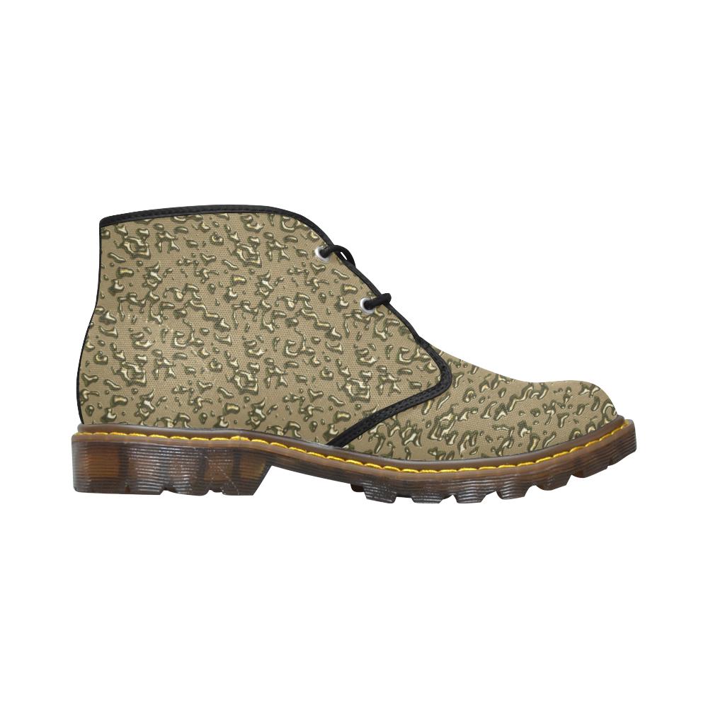 golden drops Men's Canvas Chukka Boots (Model 2402-1)