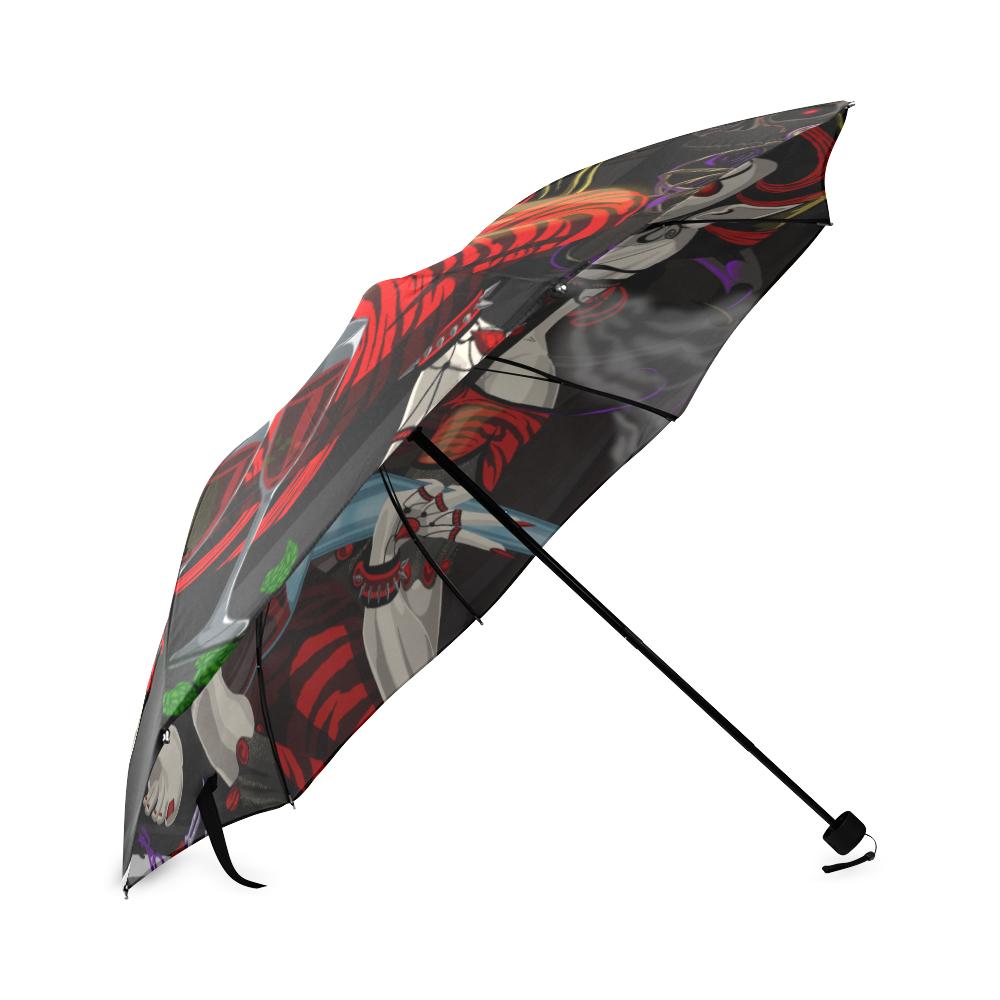 Eternal Seduction II Umbrella Foldable Umbrella (Model U01)