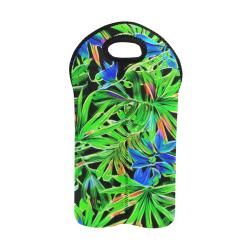 Pretty Leaves 4C by JamColors 2-Bottle Neoprene Wine Bag