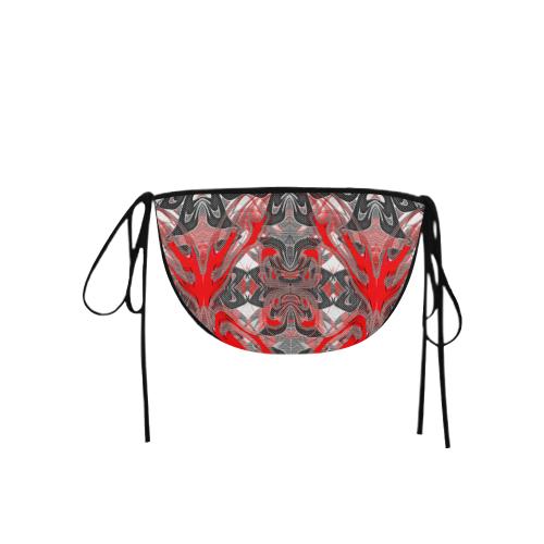 Wild Red Party Undy Crew Custom Bikini Swimsuit Bottom