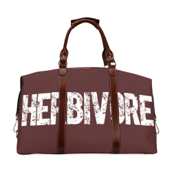 Herbivore (vegan) Classic Travel Bag (Model 1643) Remake