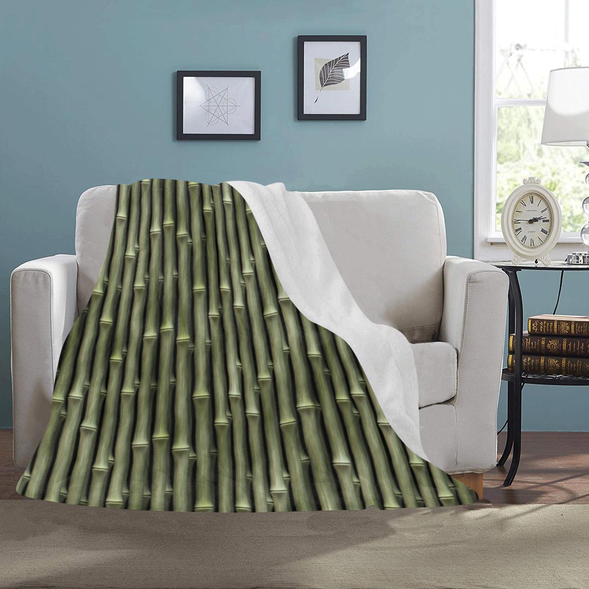 Bamboo forest Ultra-Soft Micro Fleece Blanket 43''x56''
