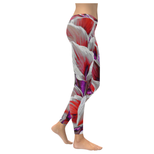 leafs_abstract 18 All Over Print Legging
