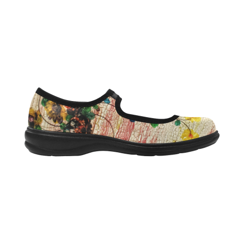 Fish Scale Art Virgo Instep Deep Mouth Shoes