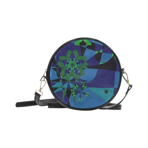 Abstract #16 N2020 Round Sling Bag (Model 1647)