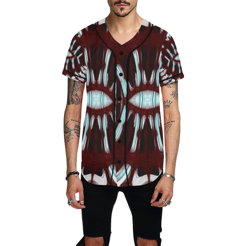 8000  EKPAH 6 low sml All Over Print Baseball Jersey for Men (Model T50)
