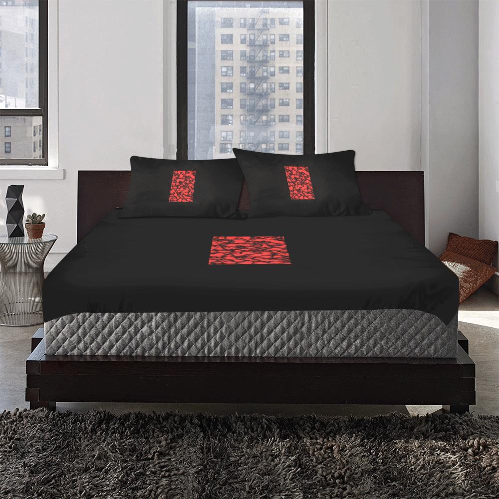 redplanet 3-Piece Bedding Set