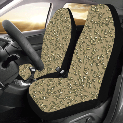 golden drops Car Seat Covers (Set of 2)
