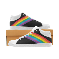 Pride Kicks Women's Chukka Canvas Shoes (Model 003)