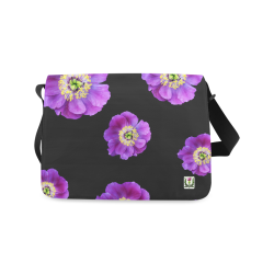 Fairlings Delight's Floral Luxury Collection- Purple Beauty 53086a13 Messenger Bag (Model 1628)