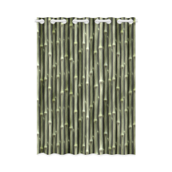 """Bamboo forest New Window Curtain 52"""" x 72""""(One Piece)"""