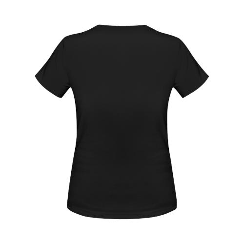 steampunk initials C brooch Women's Classic T-Shirt (Model T17)