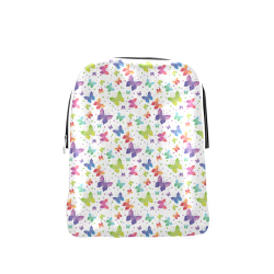 Colorful Butterflies Popular Backpack (Model 1622)