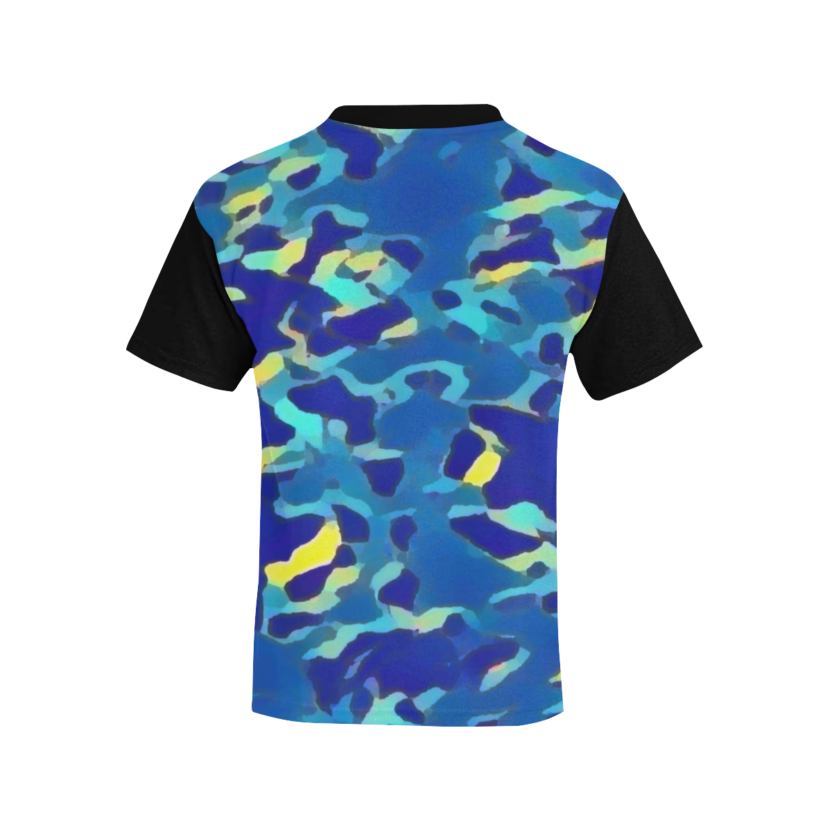 CAMOUFLAGE DUAL BLUE Kids' All Over Print T-shirt (Model T65)