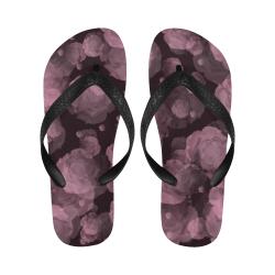 Viola Red Baroosa Flip Flops for Men/Women (Model 040)