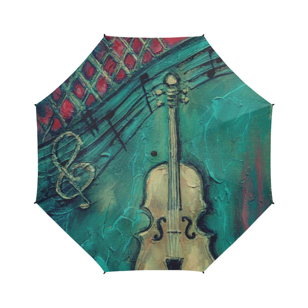 Mello Cello Semi-Automatic Foldable Umbrella (Model U05)
